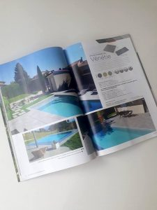 pages d'article magazine Bradstone