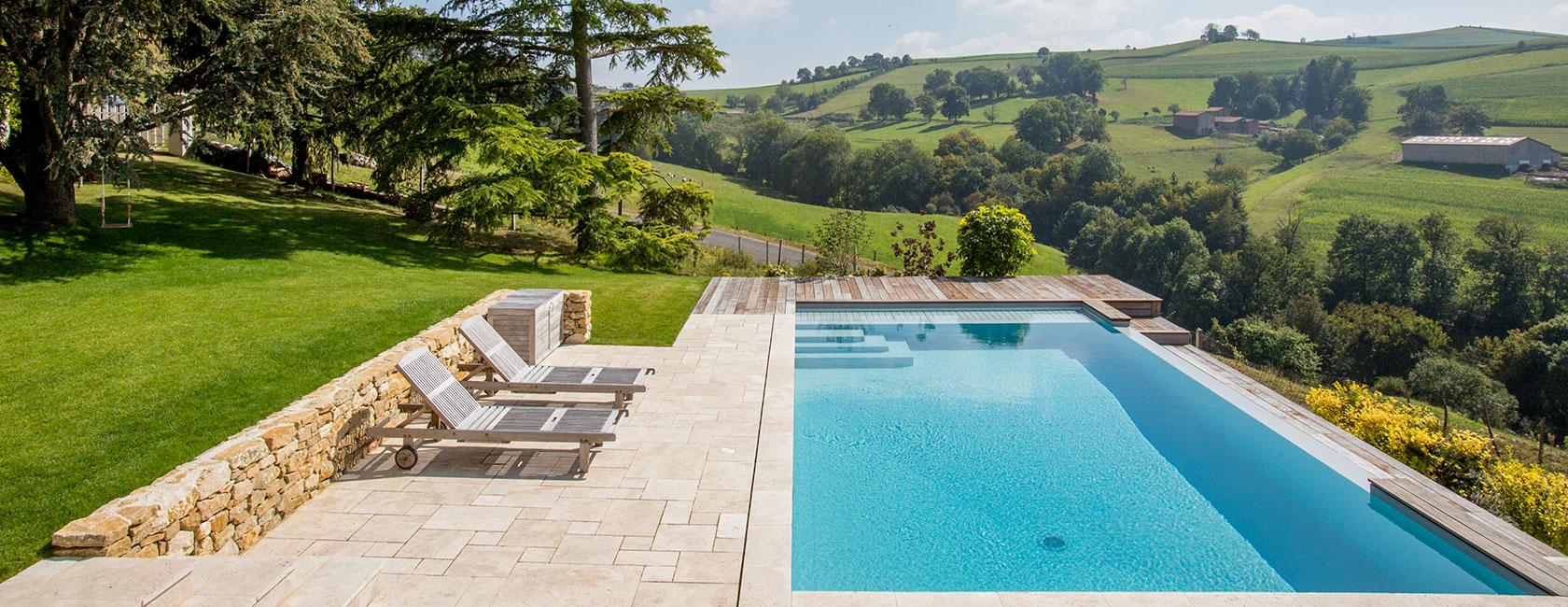 Peguet Paysages piscine paysagère