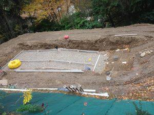 deroulement projet piscine pool-house