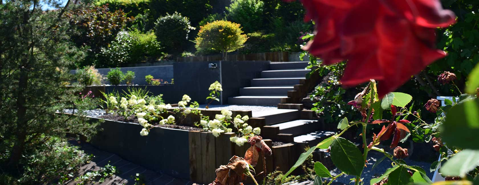 Jardin à étages